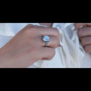 Moonstone sterling silver 925 ring